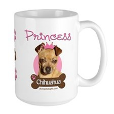 Funny Princess Chihuahua Mug