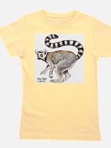 Ring-Tailed Lemur Ash Grey T-Shirt