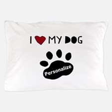 Personalized Dog Pillow Case