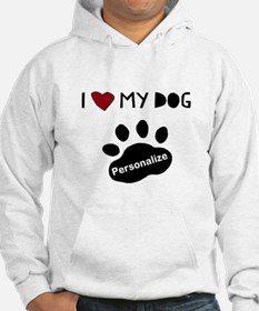 Personalized Dog Hoodie
