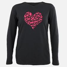 Horse Heart Pink T-Shirt