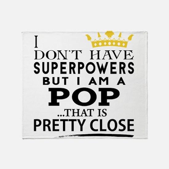 SUPER POP! Throw Blanket