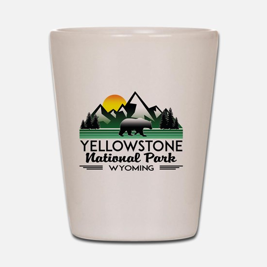 Funny Yellowstone Shot Glass
