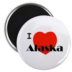 I Love Alaska! Magnet