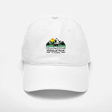 YELLOWSTONE NATIONAL PARK WYOMING MOUNTAINS EX Baseball Baseball Cap