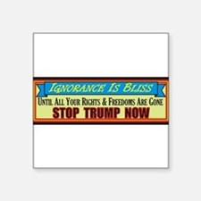 Stop Trump Now Sticker