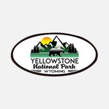 YELLOWSTONE NATIONAL PARK WYOMING MOUNTAINS Patch