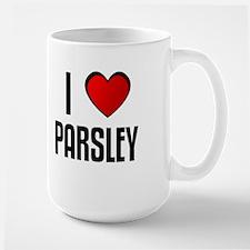 I LOVE PARSLEY Mugs