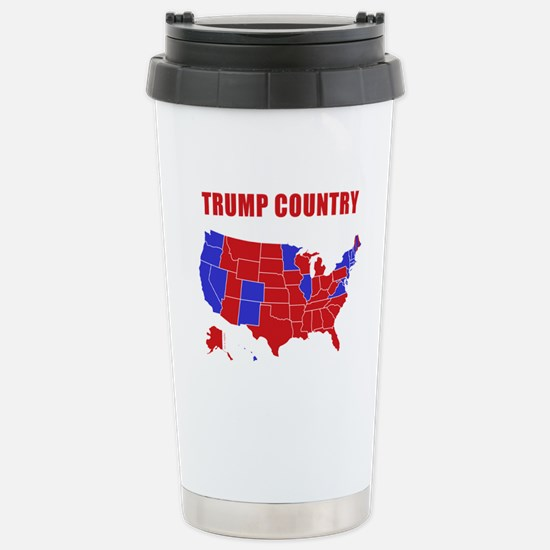 Trump Country Stainless Steel Travel Mug