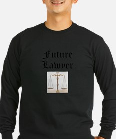 Future Lawyer Long Sleeve T-Shirt
