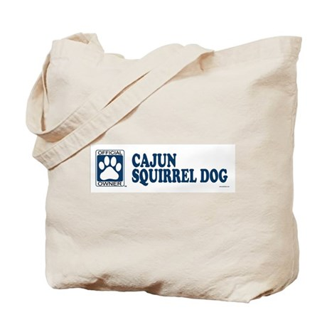 CAJUN SQUIRREL DOG Tote Bag