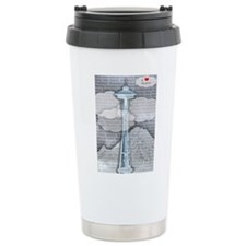 Unique Seattle Travel Mug