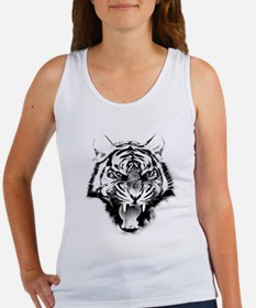 Angry Tiger Roar Tank Top