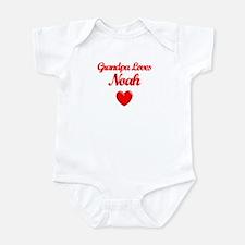 Grandpa Loves Noah Infant Bodysuit