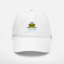 Personalizable Blue Frog Baseball Baseball Baseball Cap