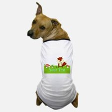 Personalizable Fox in the Woods Dog T-Shirt