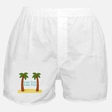 Personalizable Palm Trees Boxer Shorts