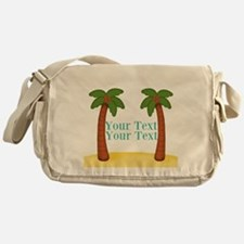 Personalizable Palm Trees Messenger Bag