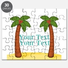 Personalizable Palm Trees Puzzle