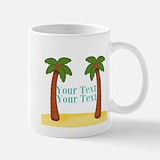 Personalizable Palm Trees Mugs
