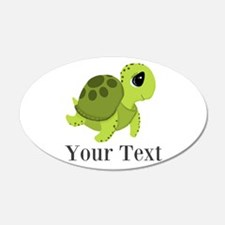 Personalizable Sea Turtle Wall Decal