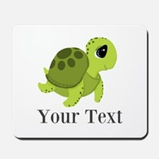 Personalizable Sea Turtle Mousepad