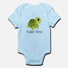 Personalizable Sea Turtle Body Suit