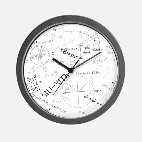 Unique Physics Wall Clock