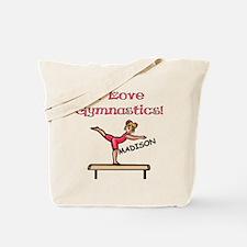 I Love Gymnastics (Madison) Tote Bag