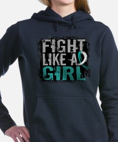 Licensed Fight Like a Girl 31.8 Cervica Sweatshirt
