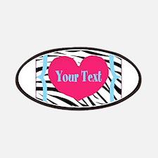 Personalizable Pink Zebra Patch
