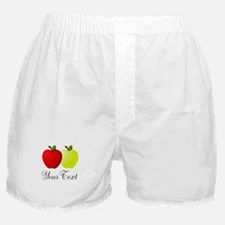Personalizable Apples Boxer Shorts