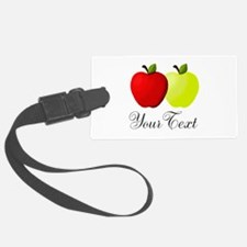 Personalizable Apples Luggage Tag