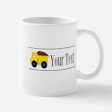 Personalizable Dump Truck Mugs