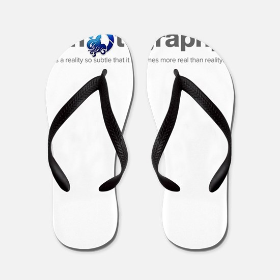 Photography is a reality so subtle that Flip Flops