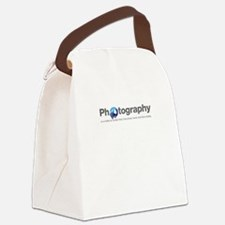 Photography is a reality so subtl Canvas Lunch Bag