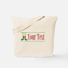 Personalizable Elf Feet Tote Bag