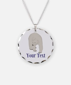 Personalizable Polar Bear Necklace