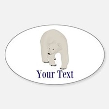 Personalizable Polar Bear Decal