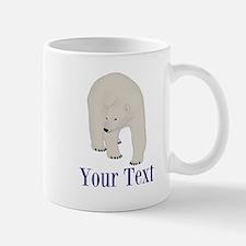 Personalizable Polar Bear Mugs