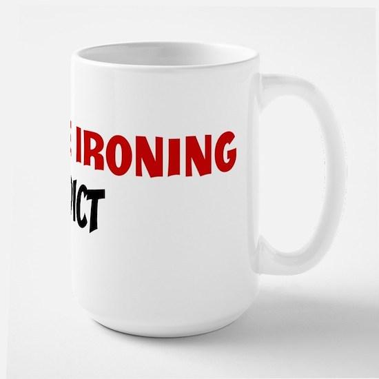 Extreme Ironing Addict Mugs