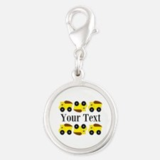 Personalizable Yellow Trucks Charms