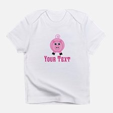 Personalizable Pink Pig T-Shirt