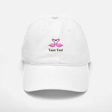 Personalizable Pink Flamingos Baseball Baseball Baseball Cap