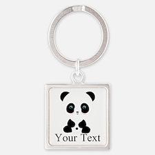 Personalizable Panda Bear Keychains