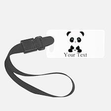Personalizable Panda Bear Luggage Tag