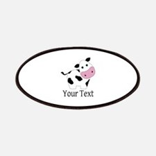 Personalizable Black and White Cow Patch