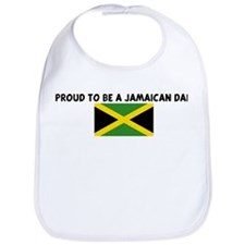 PROUD TO BE A JAMAICAN DAD Bib