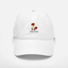 Personalizable Red Fox Baseball Baseball Baseball Cap