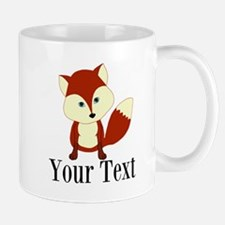 Personalizable Red Fox Mugs